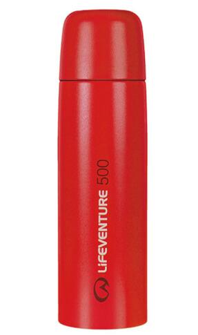 Turystyczny Termos TiV Vacuum Flasks 500ml czerwony Lifeventure