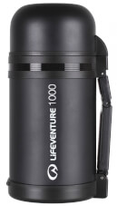Termos obiadowy TiV Wide Mouth Vacuum Flask 1000 ml Dark Grey Lifeventure