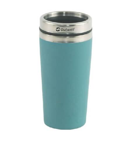 Kubek termiczny Vacuum Bamboo Mug Blue 400 ml Outwell