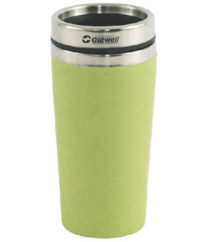 Kubek termiczny Vacuum Bamboo Mug Green 400 ml Outwell