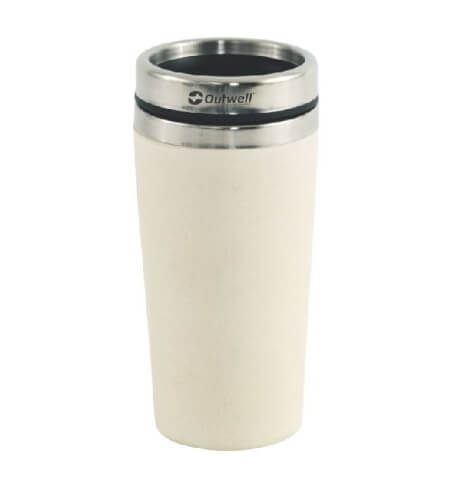 Kubek termiczny Vacuum Bamboo Mug Off White 400 ml Outwell