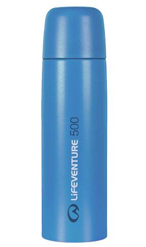 Turystyczny Termos TiV Vacuum Flasks 500ml niebieski Lifeventure