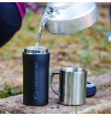 Kubek termiczny Thermal Mug Matt Black 300 ml Lifeventure czarny mat