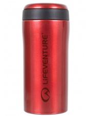 Szczelny kubek termiczny 300 ml Lifeventure Thermal Mug czerwony