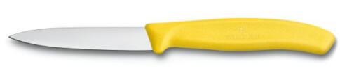 Nóż do jarzyn gładki Victorinox 10cm żółty