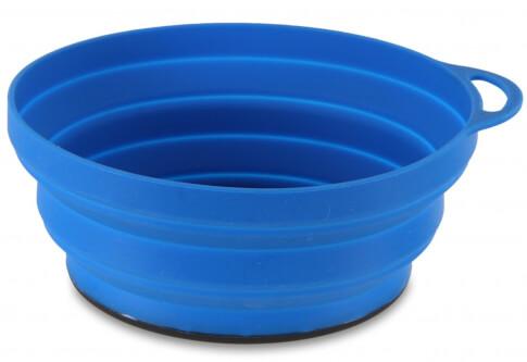 Miska składana Silicone Ellipse FlexiBowl niebieska Lifeventure