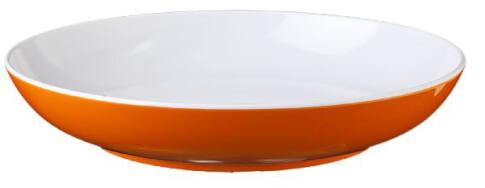 Turystyczny talerz głęboki z melaminy Brunner Spectrum Flame Orange