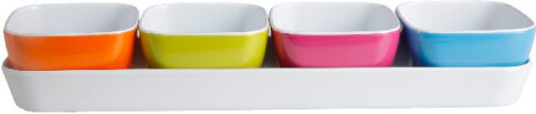 Miseczki turystyczne z melaminy Brunner Appetizer Spectrum kolorowe