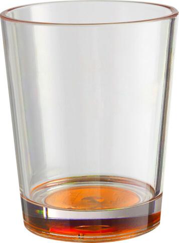 2x Nietłukące szklanki turystyczne Brunner Set Multiglas Color Antislip pomarańczowe