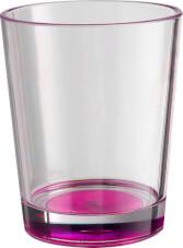 2x Nietłukące Szklanki turystyczne Brunner Set Multiglas Color Antislip różowe