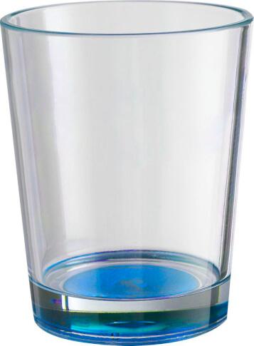 2x Nietłukące szklanki turystyczne Brunner Set Multiglas Color Antislip niebieskie