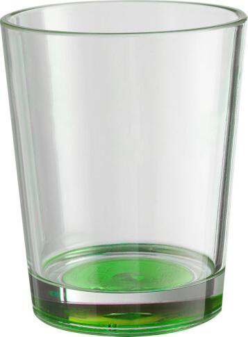2x Nietłukące szklanki Brunner Set Multiglas Color Antislip zielone