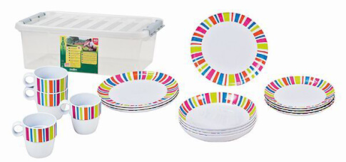 Zestaw obiadowy Brunner Stack Box Glamour Antislip
