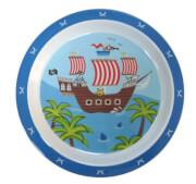 Zestaw naczyń z melaminy dla dzieci Gimex – Piraci