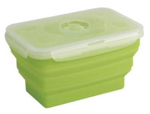 Składany pojemnik na żywność Collaps Food Box L Green