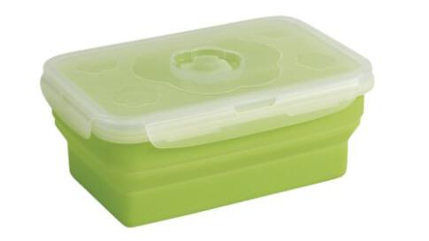 Pojemnik silikonowy składany na żywność Outwell Collaps Food Box M Green