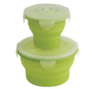 Pojemnik składany na żywność Outwell Collaps Food Box Set Green
