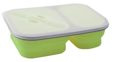 Składany pojemnik obiadowy Brunner Snack Box 1.6L zielony