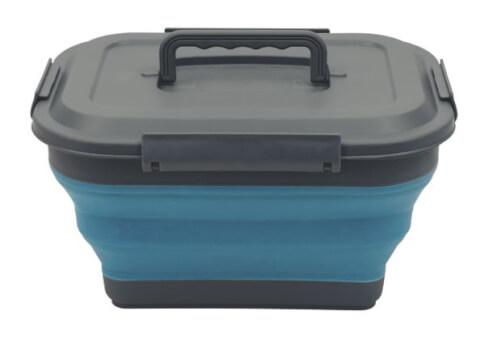Pojemnik składany z pokrywką Blue Collaps Storage Box M Blue