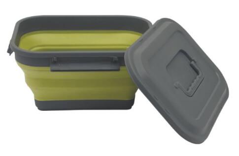 Pojemnik składany z pokrywką Green Collaps Storage Box M Geen