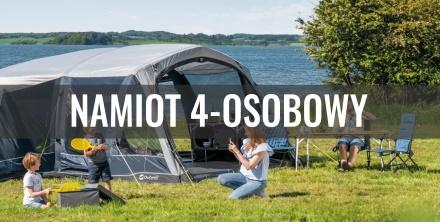 Jaki namiot 4-osobowy wybrać? Okiem eksperta