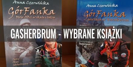 Polecane książki o Gasherbrum I i II