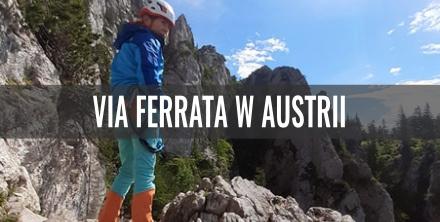 Via Ferrata Franz Scheikl Klettersteig w Austrii