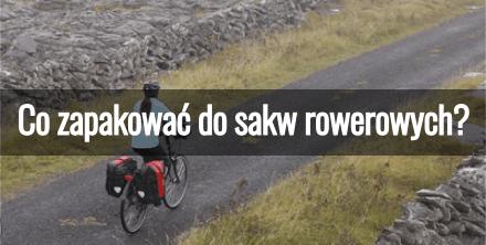 Co zapakować do sakw rowerowych?