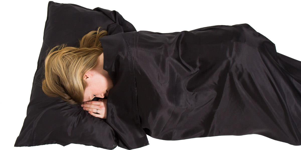 Prezent dla podróżnika wkładka do śpiwora
