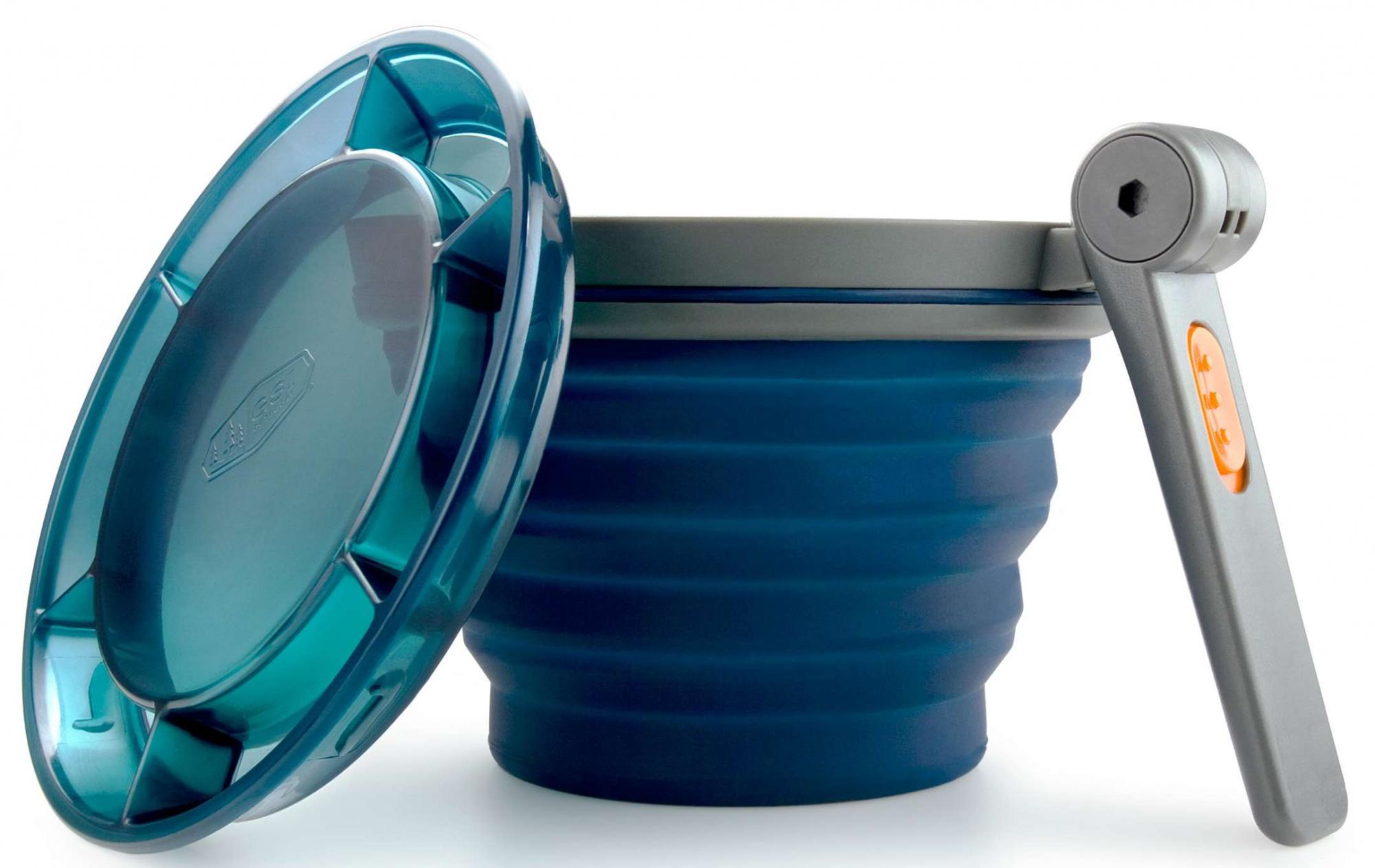 Składane naczynia turystyczne na prezent